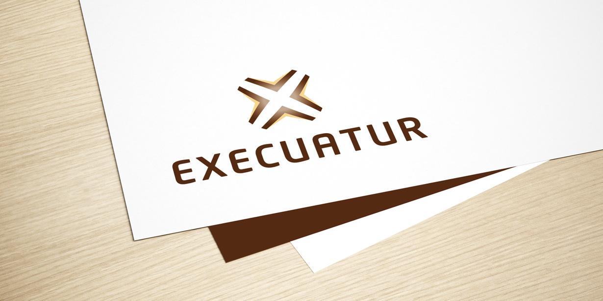 Identidade corporativa Execuatur 3