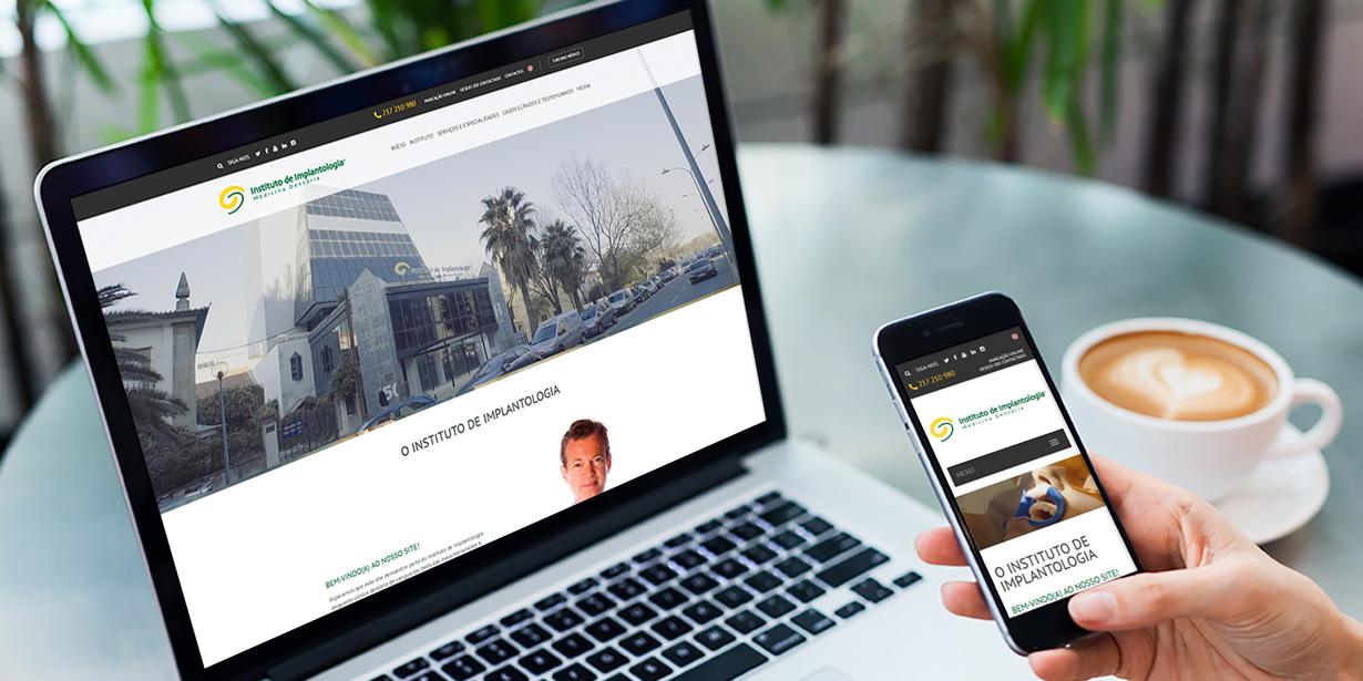 Website Instituto de Implantologia